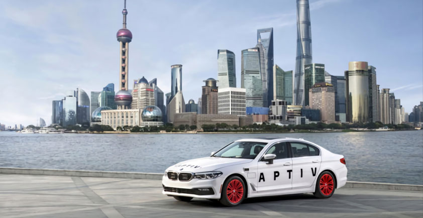 aptiv unveils smart vehicle architecture u2122 at ces 2020