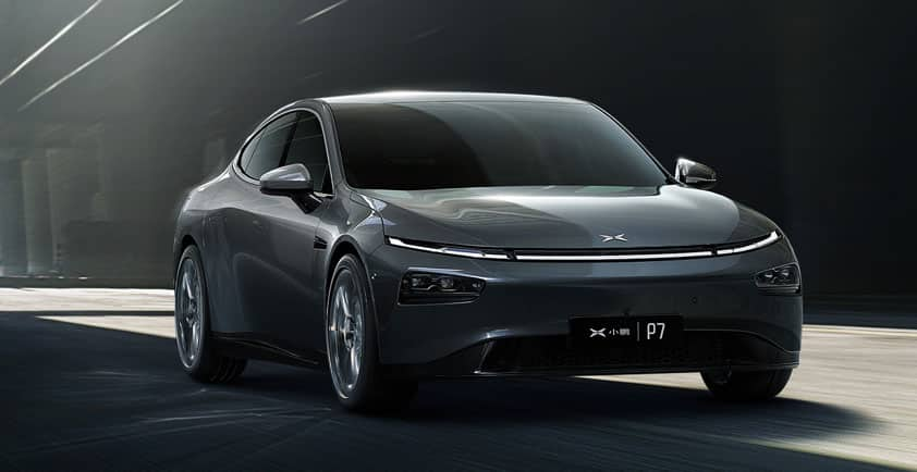 XPENG P7 LAUNCHES IN CHINA NEDC 706KM SUPER-LONG RANGE, FIRST L3-READY SMART EV